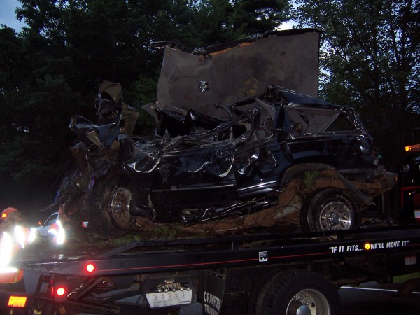 Two teens were killed early Wednesday morning in a crash on Route 27 in Boothbay.