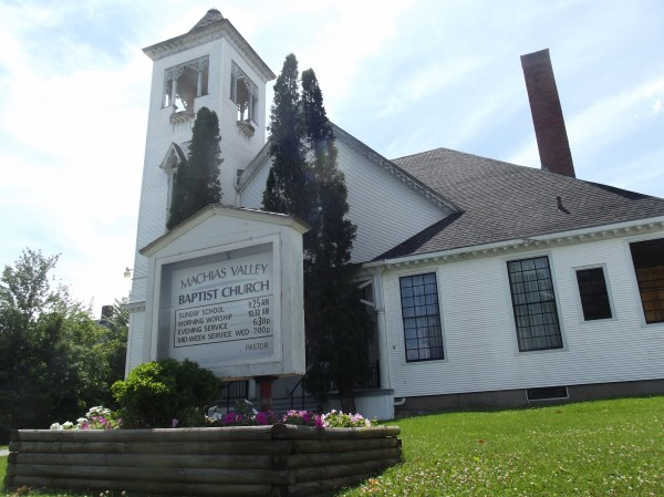 Machias Valley Christian School, in operation since 1981, is in the building of Machias Valley Baptist Church.