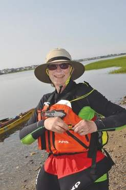 Deb Walters is kayaking from Maine to Guatemala, raising awareness and donations for Safe Passage, a charity that helps children in Guatemala.