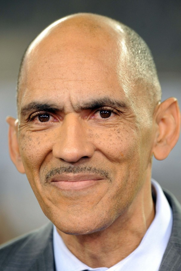 NBC Sports commentator Tony Dungy