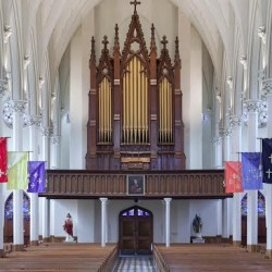 Kevin Birch Organ Concert, with Anatole Wieck, violin, August 28, 2014, 7:30 pm, St. John's Catholic Church, 207 York St., Bangor