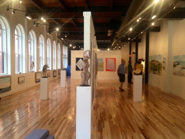 The Portland Art Gallery opened last week on Middle Street.