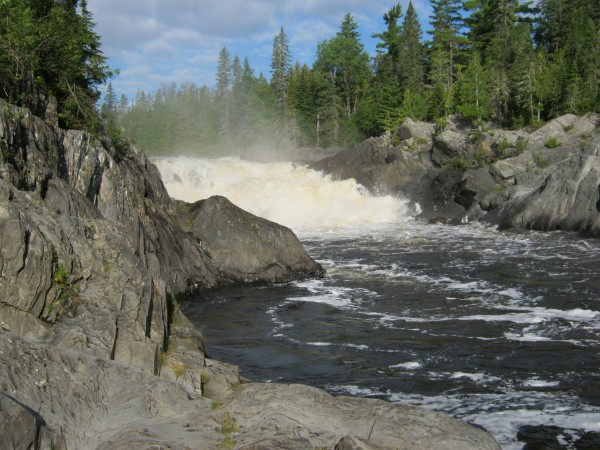 Allagash Falls in a recent photo.
