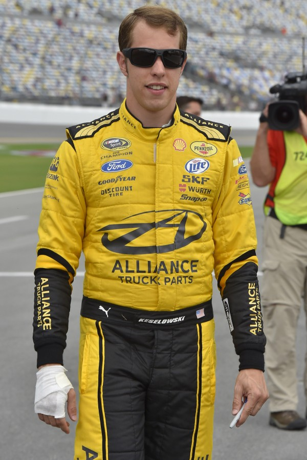 Brad Keselowski won the the Camping World RV 301 NASCAR Sprint Cup Series race Sunday at New Hampshire Motor Speedway in Loudon, N.H.