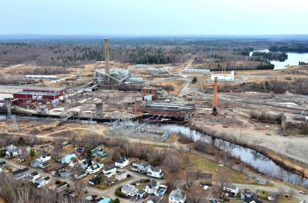The Katahdin Avenue industrial park in Millinocket is a shell of what it was in this picture taken on May 4, 2014.