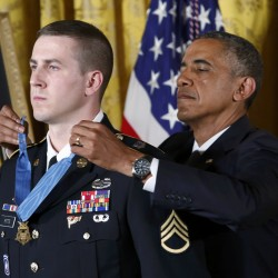 Soldier who fought off Taliban attack awarded Medal of Honor
