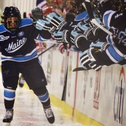 UMaine hockey player transfers to UNE; Lomberg's rights traded