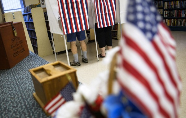 Clifton residents cast their votes Tuesday at the Town of Clifton Municipal Office.