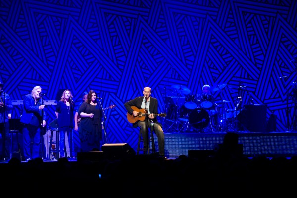 James Taylor and his All-Star Band performed at the Cross Insurance Center in Bangor on Sunday night.