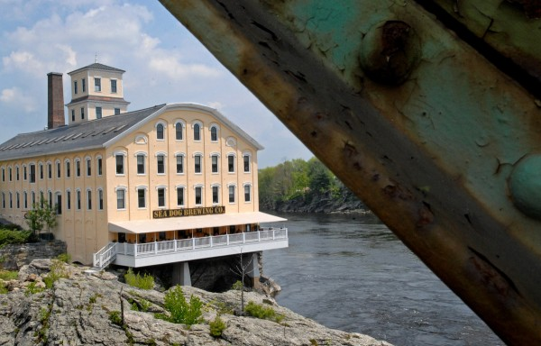 The Sea Dog Brewing Company is shown in the Bowdoin Mill in Topsham.