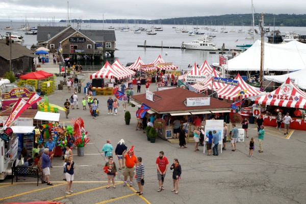 The 67th annual Maine Lobster Festival in Rockland kicked off on Wednesday and runs through Sunday.