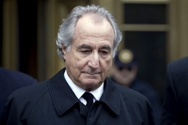 Bernard Madoff leaves federal court in New York in this March 2009 file photo.