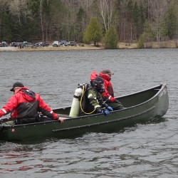 Warden divers recovered the body of Jacob Caldwell last May after a canoe he was in with two other men capsized on Echo Lake.