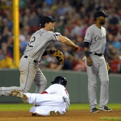 White Sox walk past slumping Red Sox