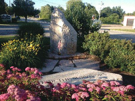 The Long Creek Plane Crash Memorial in South Portland honors the lives lost 70 years ago.