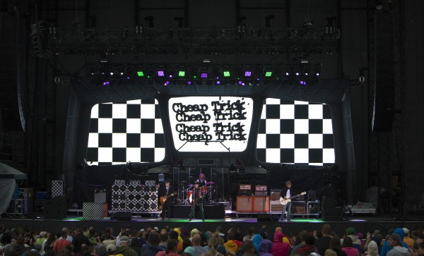 Cheap Trick performs on Wednesday at Darling's Waterfront Pavilion in Bangor.