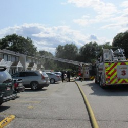 Two fires destroy Scarborough homes Saturday, injuring two