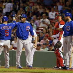 Kevin Youkilis powers Red Sox past Cubs 15-5