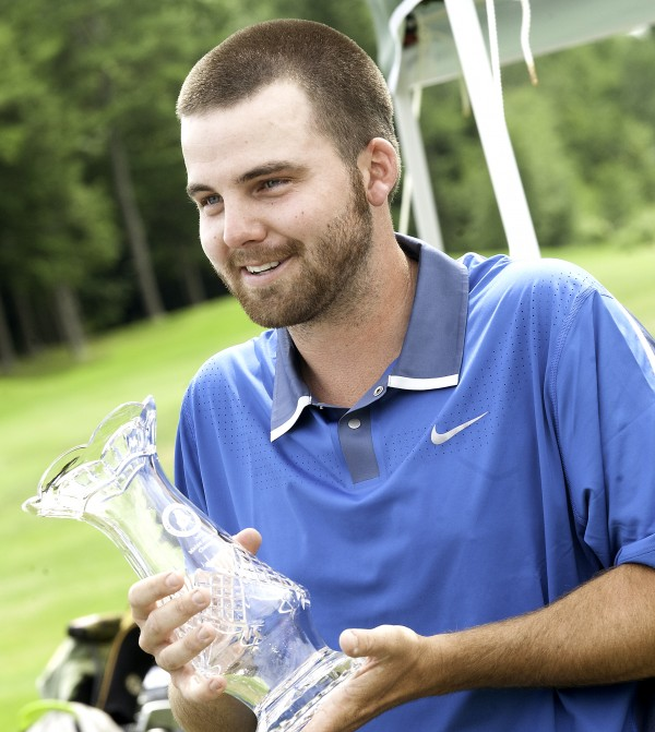 &quotThis is the coolest thing I have ever won,&quot Andrew Slattery, 25, from West Minot, said after taking the top place in the 95th Maine Amateur Golf Championship on Thursday at Woodlands Club in Falmouth.