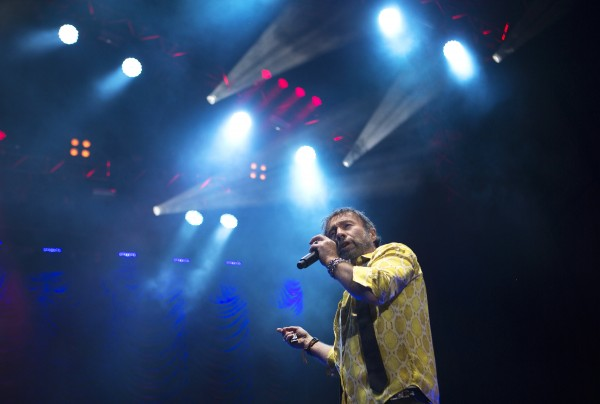 Bad Company's Paul Rodgers preforms during the Bad Company and Lynyrd Skynyrd show at the Darling's Waterfront Pavilion in Bangor.