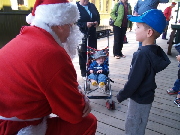 Santa is making plans for his summer vacation in the Boothbay Harbor Region to support the second annual Toys for Tots toy drive at the Boothbay Railway Village on Friday, July 25. Each adult or child who brings a new, unwrapped toy to donate will be treated to free admission to the museum and, of course, a steam train ride.