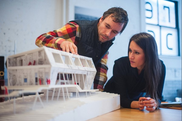 Stephen Kopp and Monica Adair, founders of the Saint John, NB-based firm Acre Architects will give a free Architecture Talk at 7 p.m., Thursday, August 7, at the Tides Institute & Museum of Art, Eastport.