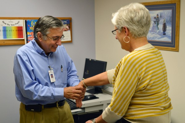 TAMC rheumatologist Dr. John Assini, is collecting data to help study people with, and treatments for, rheumatic conditions. Earlier this month, Dr. Assini began asking patients at the Rheumatology Clinic at TAMC to volunteer to take part in this vital study.