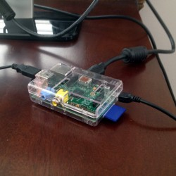 The credit-card-sized Raspberry Pi computer is at the center of CUBE.