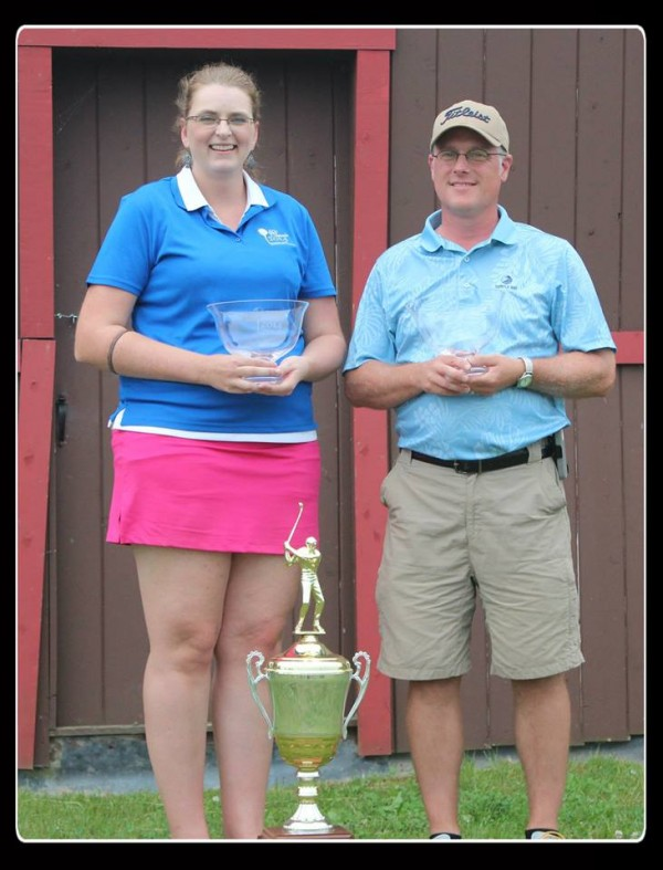 The 31st Annual Cary Classic Benefit Golf Tournament, sponsored by the Jefferson Cary Foundation and Katahdin Trust Company was held this past weekend, July 12th -13th, at the Caribou Country Club. This year's overall Tournament Champions were Steve Clark of Caribou,   with a 36-hole gross score of 153; and Emily Jose of Caribou, with a gross score of 174. This was Emily's fourth consecutive Cary Classic win in the ladies division and fifth tournament win overall.