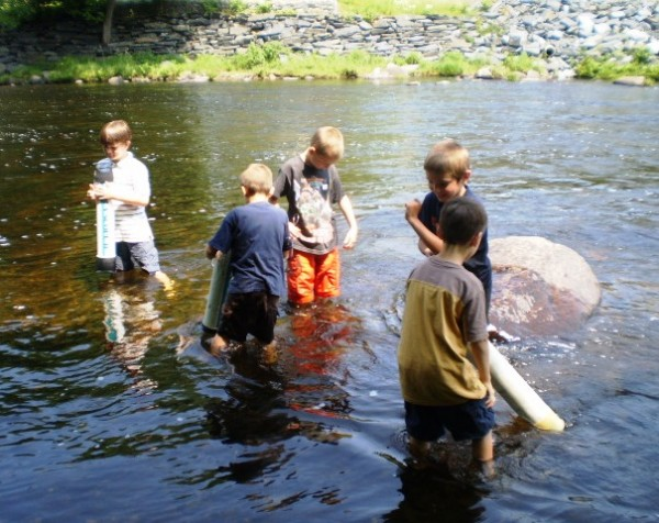 Exploring the Piscataquis River with Water Scopes