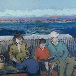 "Opening Reception for John Heliker: ""Paintings from the Cranberry Island Years"" at Courthouse Gallery"