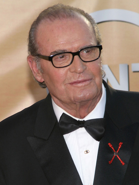 James Garner attends the 11th annual Screen Actors Guild Awards held at the Shrine Auditorium in Los Angeles on Feb. 5, 2005.