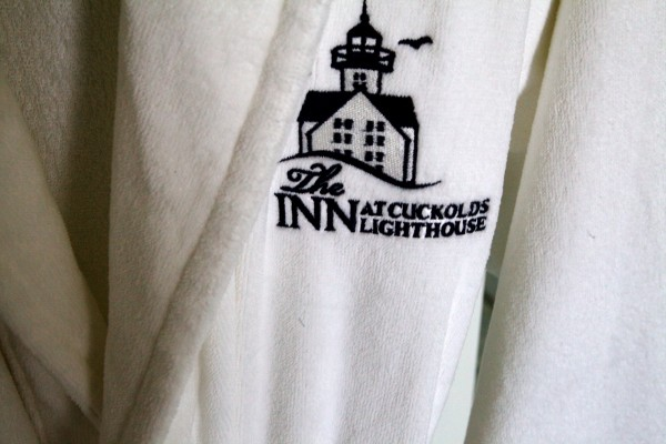 The high-end Inn at Cuckolds Lighthouse, off Southport, is almost ready to receive its first paying guests.