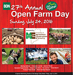 2016 Open Farm Day