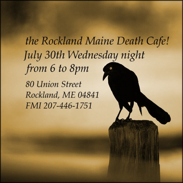 Death Cafe in Rockland!