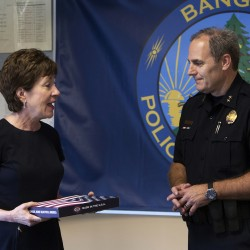 Former Bangor police chief again takes the lead on a difficult journey after cancer returns