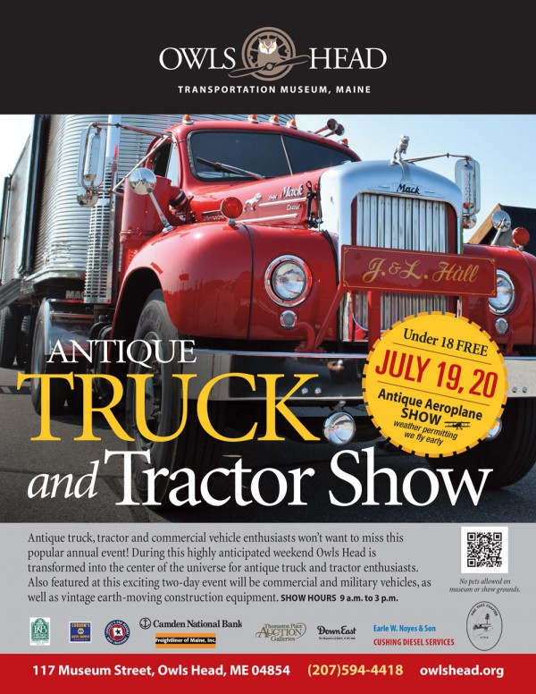 Truck Shows Near Me >> Don T Miss The Owls Head Transportation Museum S Annual Truck And