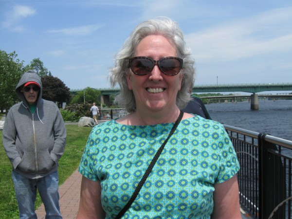 """It's beautiful and a nice place to walk, nice to be next to the water.""