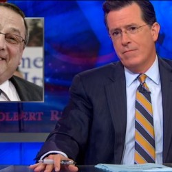 'Colbert Report' tackles MDI missing scallop guts caper