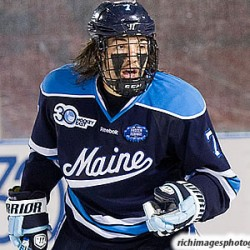 UMaine hockey player Ryan Lomberg facing assault charge, suspended from team