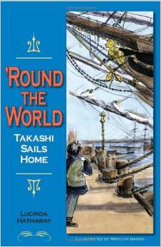 Round the World, Takashi Sails Home by Lucinda Hathaway