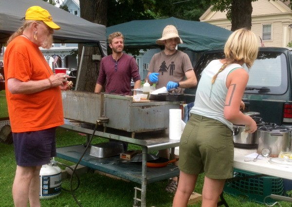 The Gardiner Food Co-op crew cooks up a storm