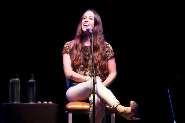 Alanis Morissette, 90s pop icon, performs an intimate, acoustic show on Saturday at the Maine State Pier in Portland.