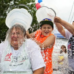 Remember, ALS is the focus of the ice bucket challenge