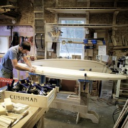 Surfboard legend still making and perfecting signature boards