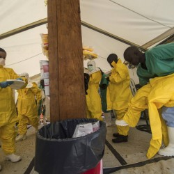 Liberia Ebola center attacked, straining efforts to contain deadly virus