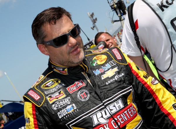 Tony Stewart during practice for the Cheez-It 355 at Watkins Glen International on Saturday.