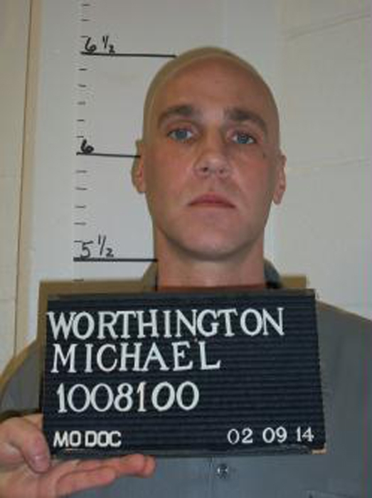 Michael Worthington is pictured in this handout photo taken February 9, 2014.