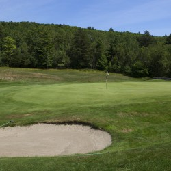 Golf course at The Causeway Club in Southwest Harbor offers unique challenge