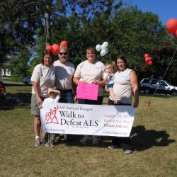 Bangor Walk to Defeat ALS team member adds challenge